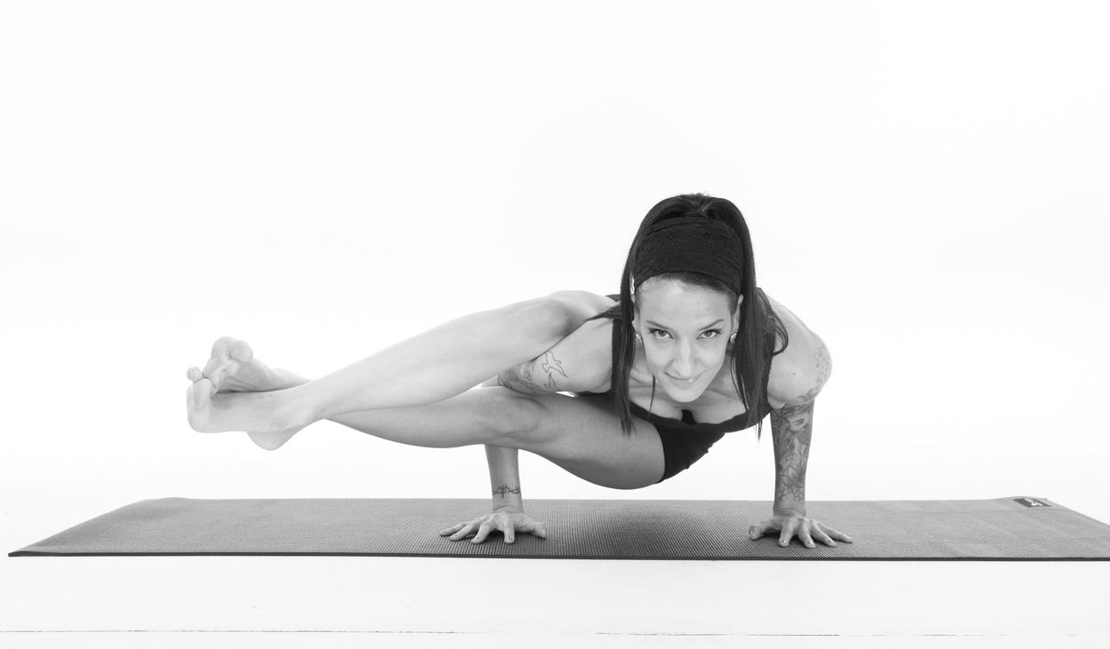 Yoga Poses - Eight Angle Pose
