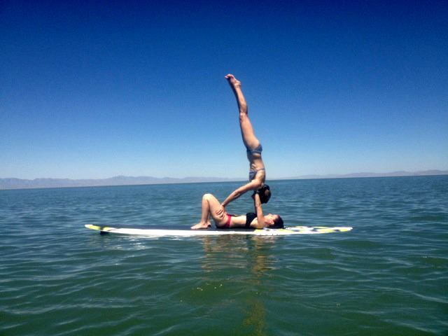 Yoga Poses Acroyoga