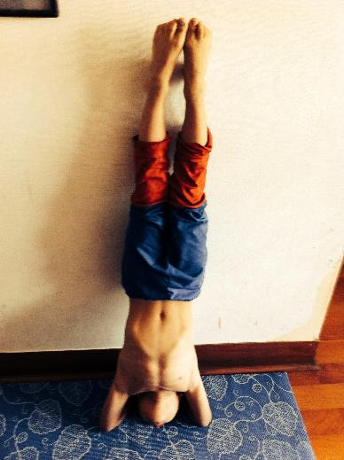 Supported Headstand