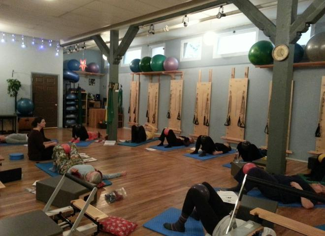 Joy of pilates yoga studio in bellingham om for 13 salon bellingham