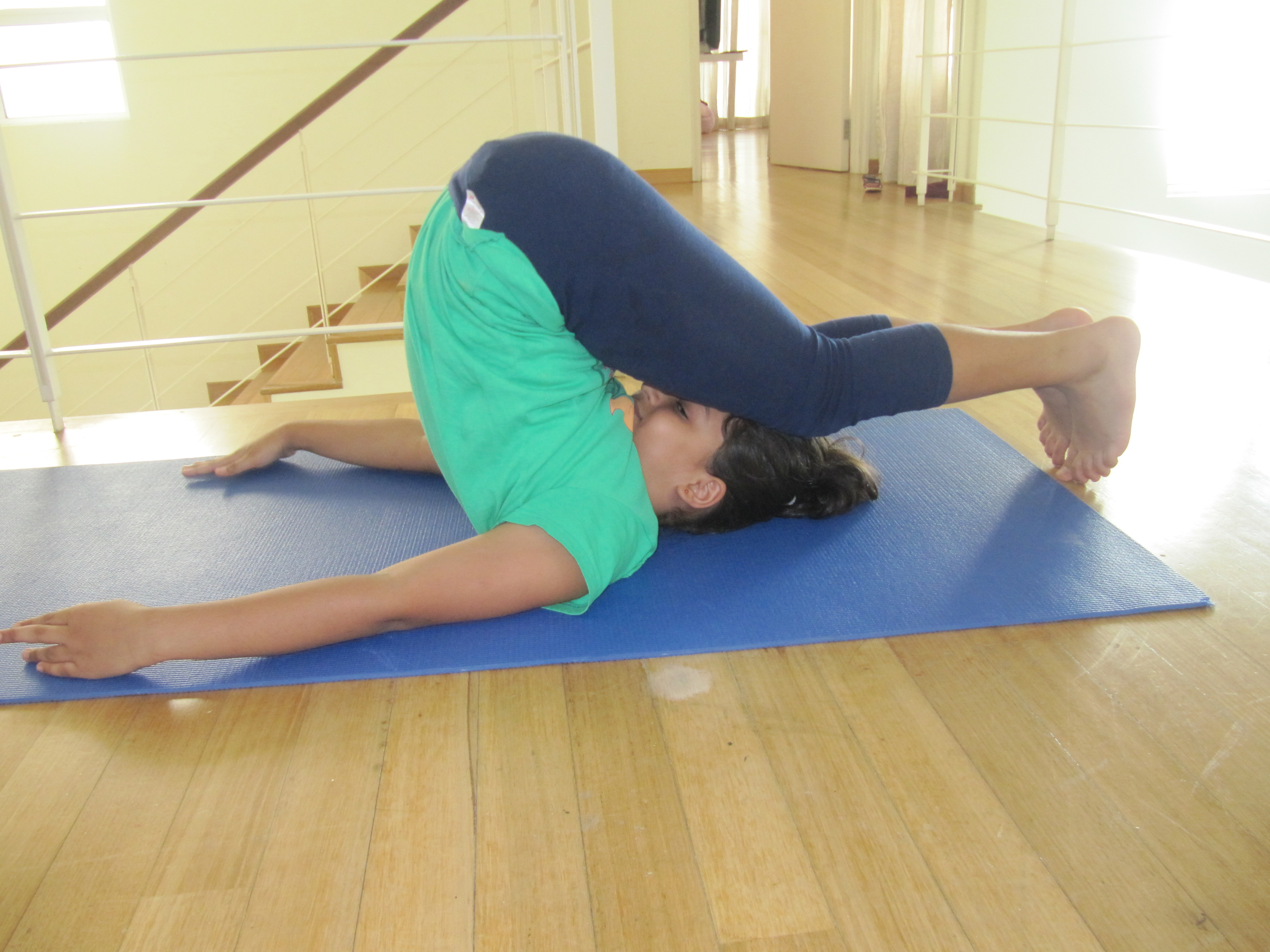 Yoga Poses - Plow Pose